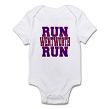 Run Wentworth Run Infant Bodysuit