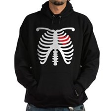 Heart and Bones Hoodie