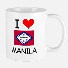 I Love MANILA Arkansas Mugs