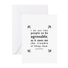 Agreeable People Greeting Cards (Pk of 10)
