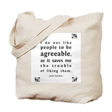 Agreeable People Tote Bag