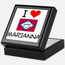 I Love MARIANNA Arkansas Keepsake Box