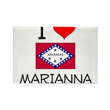 I Love MARIANNA Arkansas Magnets