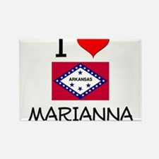 I Love MARIANNA Arkansas Magnets