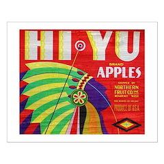 Hi-Yu Apples Posters