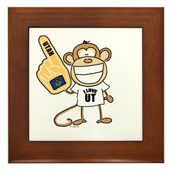UTAH MONKEY Framed Tile