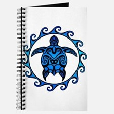 Maori Tribal Blue Turtle Journal