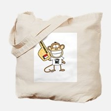 NORTH CAROLINA MONKEY Tote Bag