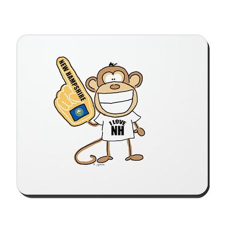 NEW HAMPSHIRE MONKEY Mousepad