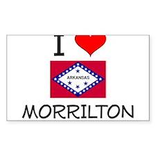 I Love MORRILTON Arkansas Decal