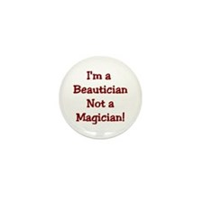 Beautician Mini Button (10 pack)