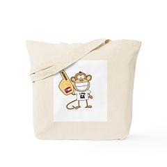 GEORGIA MONKEY Tote Bag