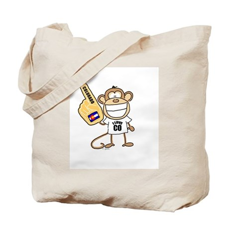 COLORADO MONKEY Tote Bag