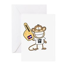 COLORADO MONKEY Greeting Cards (Pk of 10)