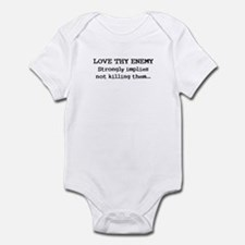 Love Thy Enemy? Infant Bodysuit