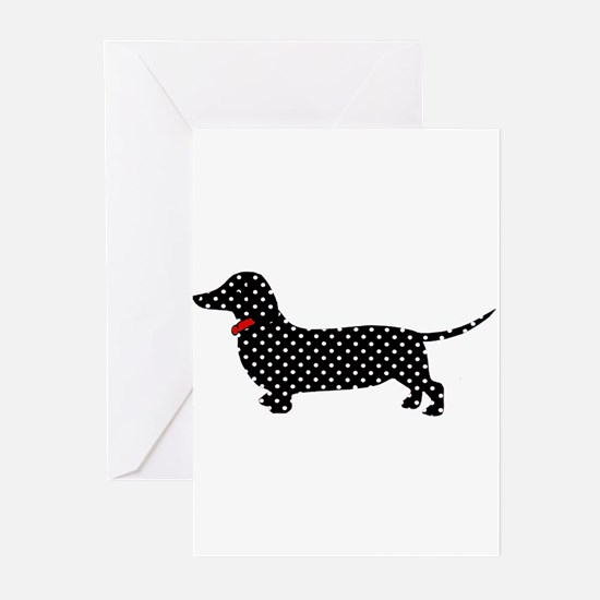 Spot the Dachshund Greeting Cards