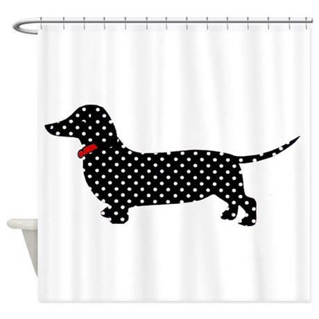 Exceptional Spot The Dachshund Shower Curtain
