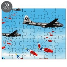 WWII Air Corp B-29 Bombing Pops Puzzle