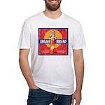 Trojan Brand Fitted T-Shirt