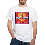 Trojan Brand White T-Shirt