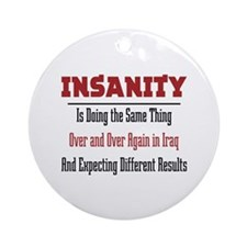 Insanity Ornament (Round)