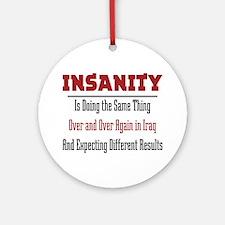 Insanity Ornament (Round)