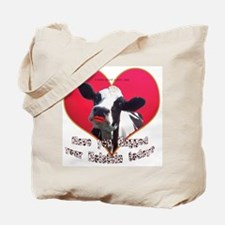 Cows Need Love Tote Bag
