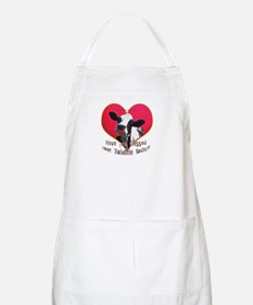 Cows Need Love BBQ Apron