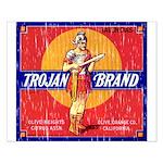 Trojan Brand Small Poster