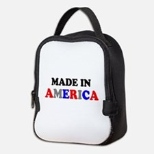 MADE IN AMERICA Neoprene Lunch Bag