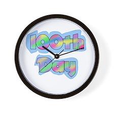 100th Day of School Wall Clock