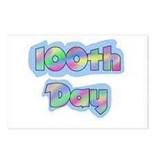 100th Day of School Postcards (Package of 8)