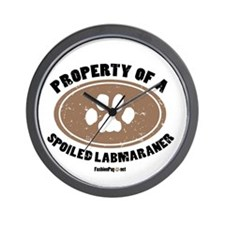 Labmaraner dog Wall Clock