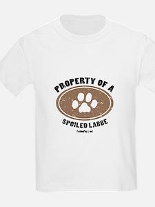 Labbe dog Kids T-Shirt