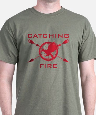 Catching Fire Arrows Red Logo T-Shirt