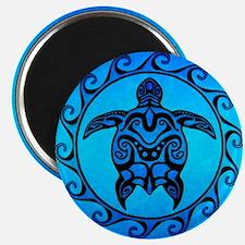 Maori Ocean Blue Turtle Magnets