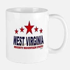 West Virginia Mighty Mountain State Mug