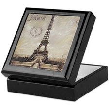 """We'll always have Paris"" Keepsake Box"