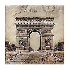 """We'll always have Paris"" Tile Coaster"