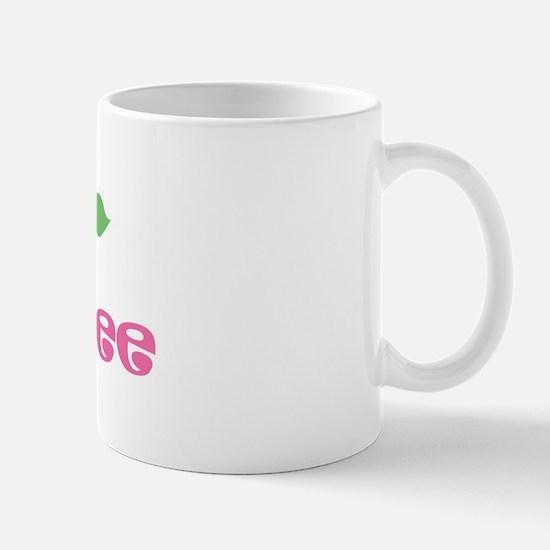 """Pink Daisy - """"Aubree"""" Mug"""