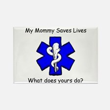 My Mommy saves lives Rectangle Magnet