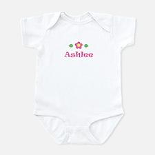 """Pink Daisy - """"Ashlee"""" Onesie"""
