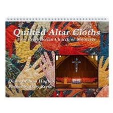 Quilted Altar Cloth Wall Calendar