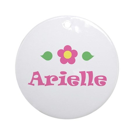 """Pink Daisy - """"Arielle"""" Ornament (Round)"""