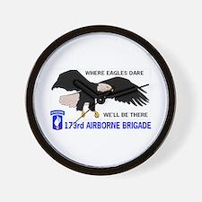 173rd AIRBORNE Wall Clock