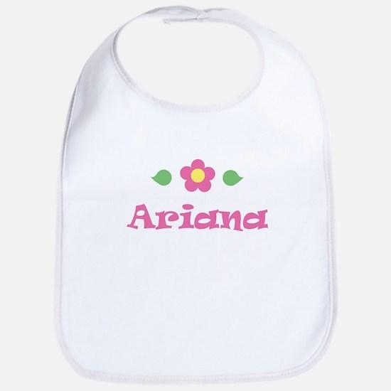 """Pink Daisy - """"Ariana"""" Bib"""