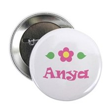 "Pink Daisy - ""Anya"" Button"