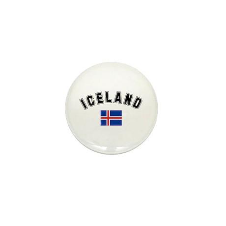 Iceland Flag Mini Button