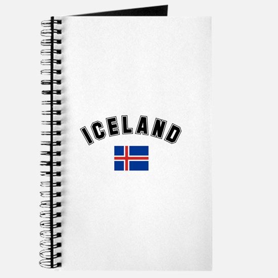Iceland Flag Journal