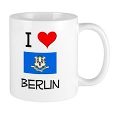 I Love Berlin Connecticut Mugs